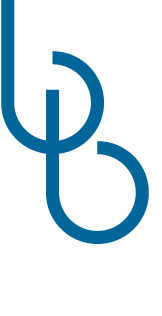 Babette logo blauw met wit