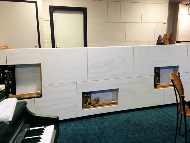 Balie in pianowinkel