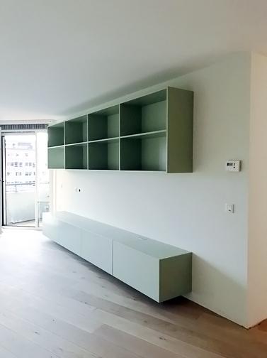 Kasten ensemble, modern groen