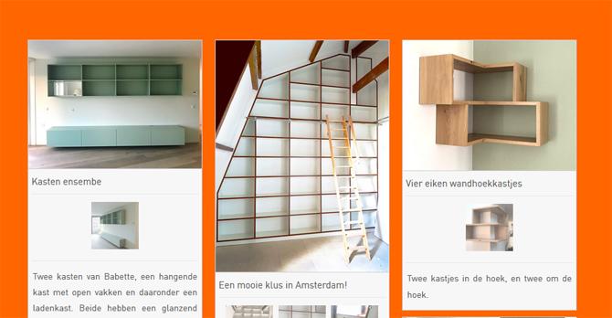 Afbeelding van het portfolio van Babette Meubel en Interieur, en link naar de pagina Projecten